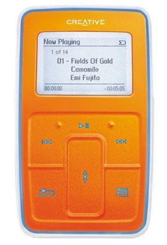 Creative Zen Micro 5GB SE, Farbe: orange