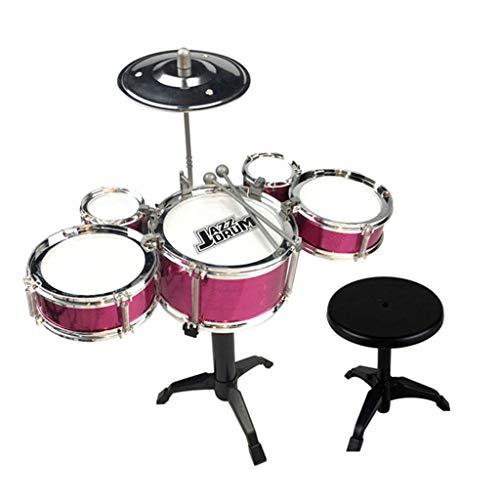 MAGELIYA a Juego de batería de Jazz para niños con Palos Instrumento Educativo Musical Mini Band Play Toy para niños