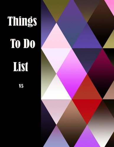 Things to do List V5: List of Thing to do and Journal task Notepad daily Jot & Mark Size 8.5*11 inches 111 Full Pages for to do list and follow up task with art image for cover