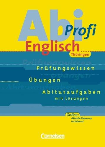 Abi-Profi Englisch - Thüringen: Abi-Profi Englisch, Ausgabe Thüringen