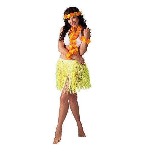 Hawaii Set 3-teilig in 4 Farben gelb