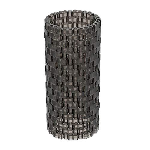 ColiCor Juego de 400 jarrón transparente para construcción, diseño de bloques de construcción con LEGO 10280, color marrón