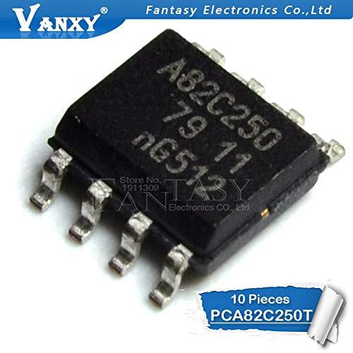 10 STÜCKE PCA82C250T SOP8 PCA82C250 SOP 82C250Y A82C250 SMD neue und ursprüngliche IC