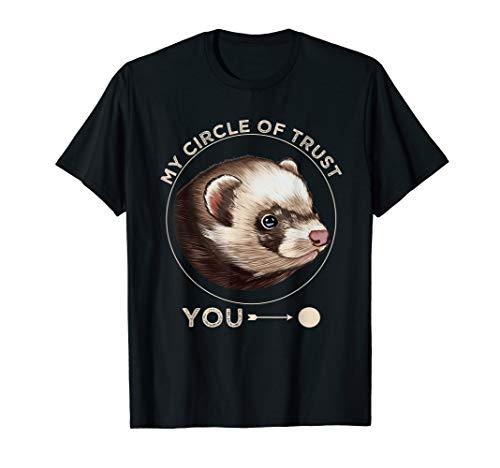 Frettchen Wiesel Otter Marder Liebhaber Geschenke T-Shirt