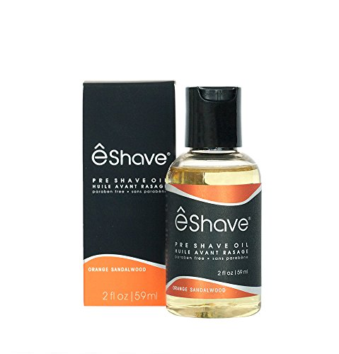 êShave Pre Shave Oil, Orange Sandalwood, 2 Fl Oz