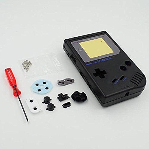 Carcasa completa de repuesto para Nintendo Gameboy Classic 1989 GB DMG consola,...