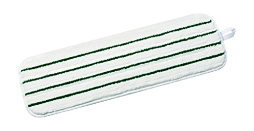 3M Easy Scrub Flat Mop, White, 18 in, 10/bag, 10 bags/case (Pack of 10)