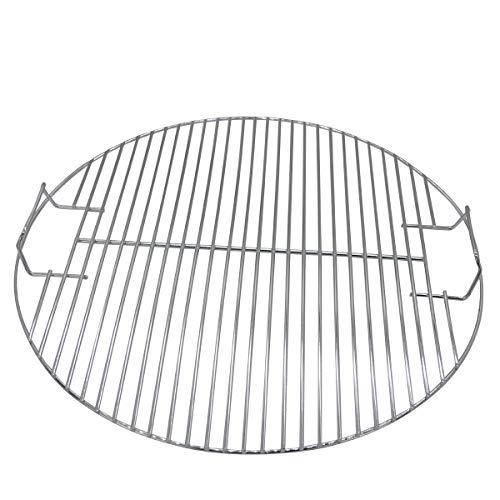 LncBoc 44,45 cm Grill-Grillroste Ersatzteil für Weber 7432 Kugelgrill, 47 cm One-Touch-Weber-Holzkohlegrill, Bar-B-Kettle, Smokey Mountain Cooker Smoker, Jumbo Joe, Original Wasserkocher