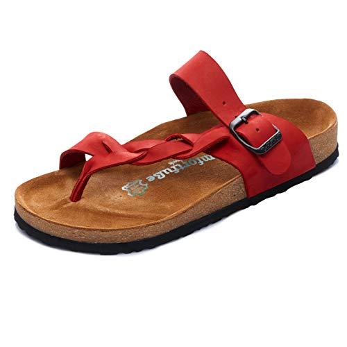 Comfortfüße dsgn GERMANY Sandalen Gisel Red Größe: 5-5,5 für Frauen