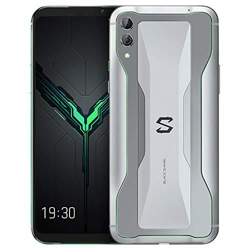 Xiaomi Black Shark 2 Gaming Phone 128GB 8GB RAM (GSM Only, No CDMA) International Version - No Warranty (Silver)