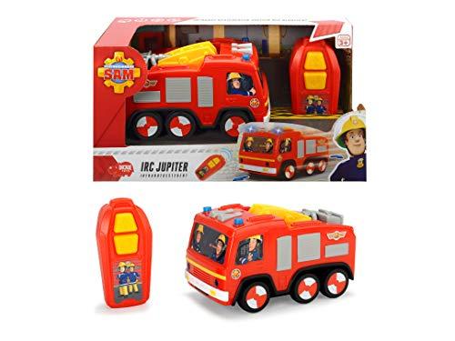 RC Feuerwehr kaufen Feuerwehr Bild 1: DICKIE-Spielzeug 203093003 Feuerwehrmann FS Sam IRC Jupiter Fahrzeug*