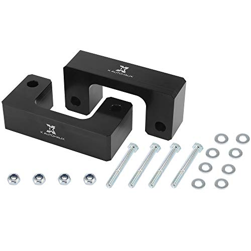 X AUTOHAUX 2.5inch Front Leveling Lift Kit Suspension Spring Strut Spacer Lift Spacers for Chevrolet Silverado 1500 for GMC 1500 2007-2019
