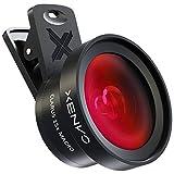 Xenvo Pro - Kit di lenti per iPhone e Android, macro e grandangolare, con luce LED e custodia da viaggio