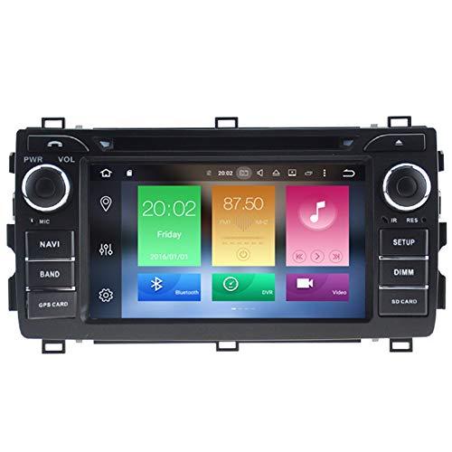 Pour Toyota Auris E180 2013 2014 2015 2016 2017 Navigation GPS Auto Radio Voiture Sat NAV Système de Navigation GPS Navigator Satellite Lecteur DVD Tracker Bluetooth Auto Radio Navi