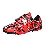 WEJIESS Chaussures de Football Enfant garçon Fille Profession Athlétisme Entrainement Chaussures Adolescents Chaussures de Foot en Plein Air Unisex 28-38