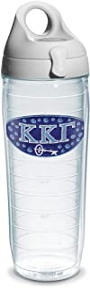 Tervis Kappa Gamma Fraternity Water Bottle with Lid, 24 oz, Clear