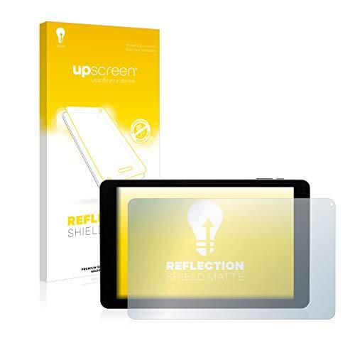 upscreen Entspiegelungs-Schutzfolie kompatibel mit Captiva Pad 10 3G Plus – Anti-Reflex Bildschirmschutz-Folie Matt