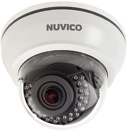 HC-D3 Nuvico 3.6mm Lens 45fps @ 1080p Indoor Day/Night WDR IR Fixed Dome Hydra HD Coax Security Camera 12VDC/PoE