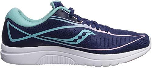Saucony Women's S10467-1 Kinvara 10 Running Shoe, Navy | Mint - 8 M US