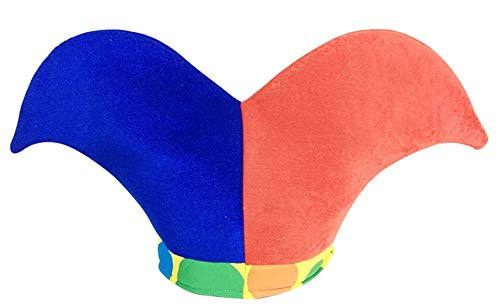 Black Temptation Disfraz de Sombrero de Bufón Sombrero de Bufón Divertido Disfraces de Fiesta de Halloween, Sombrero de Payaso #14
