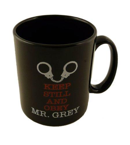 Taza de 50 Sombras de Grey gris