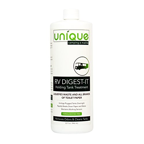 Unique 413-1 RV Digest-It Holding Tank Treatment, 16 Treatments 32oz, packaging may vary