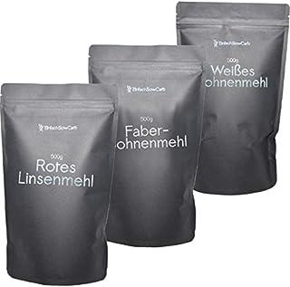Spezialmehl-Pack Linsenmehl & Bohnenmehl - EinfachSlowCarb