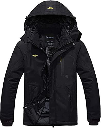 Wantdo Men's Mountain Waterproof Ski Jacket