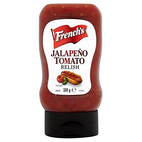 Französisch Jalapeno Tomaten Relish 320g