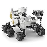 NASA Perseverance Mars Rover Kit de Bloques de construcción, Explorers Mars Rover Landing Toys, Modelos de Laboratorio de Ciencia Espacial, Regalo para niños, niño, Adulto (Solo Coche) - 492 Piezas