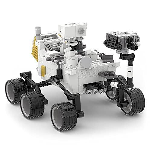 NASA Perseverance Mars Rover Kit de Bloques de construcción, Explorers Mars Rover Landing Toys, Modelos de Laboratorio de Ciencia Espacial, Regalo para niños, niño, Adulto - 492 Piezas