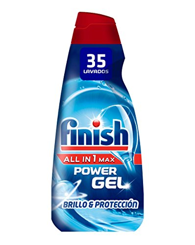 Finish Gel Lavavajillas Todo en 1 Max Regular – 35 dosis