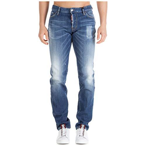 DSQUARED2 heren jeans i Love d2 blauw