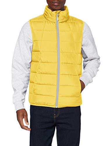 TOM TAILOR Denim Herren Lightweight Outdoor Jacke, 23931-lemon Juice Yellow, XXL