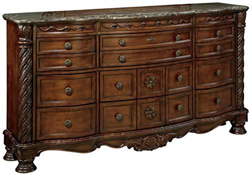 Signature Design by Ashley North Shore Dresser, Brown
