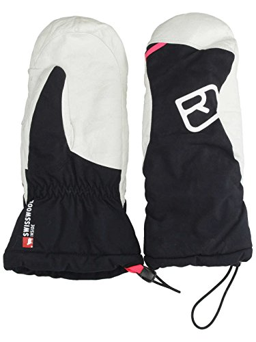 ORTOVOX Damen Swisswoll Freeride Mitten Handschuhe, Black Raven, S
