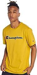 Champion Camiseta Cuello Caja Pistacho para Hombre