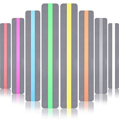 Guided Reading Strips- Hommer 8 Pieces Colored Overlays Highlight Bookmarks for Reading, Dyslexia, Reading Tracker Bookmark, Children Teacher Education Supplies (Standard)