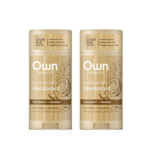 Own Beauty Deodorant Twin Pack (Coconut + Mango)