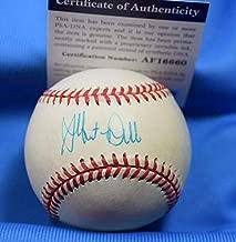 ALBERT BELLE PSA DNA Coa Autograph American League OAL Hand Signed Baseball