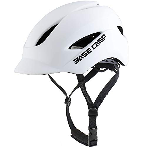 BASE CAMP Adult Bike Helmet with Rear Light for Urban Commuter...