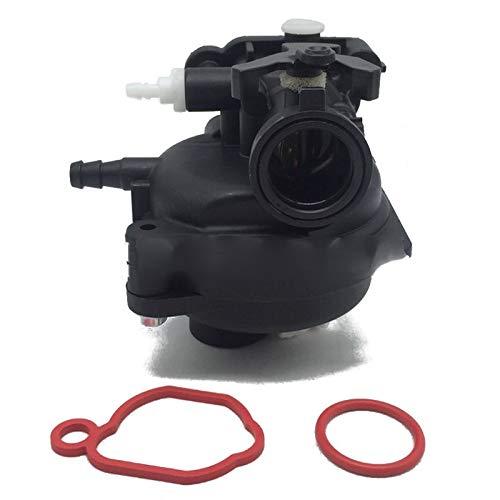 Carburador Carburador del Motor con Junta Compatible con Briggs-Stratton 590556 799583 591979 595656 B36B Engine (Color : Black)