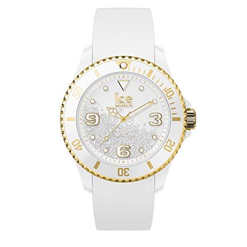 Ice-Watch - ICE crystal White gold - Reloj bianco para Mujer