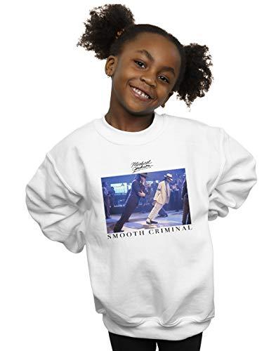 Absolute Cult Michael Jackson Niñas Smooth Criminal Lean Camisa De Entrenamiento