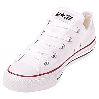 Converse Unisex Chuck Taylor All Star Ox Low Top Optical White Sneakers - 8.5 B(M) US Women / 6.5 D(M) US Men