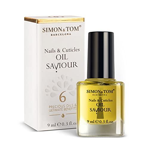 SIMON & TOM - Oil Saviour - Olio riparatore per Unghie...