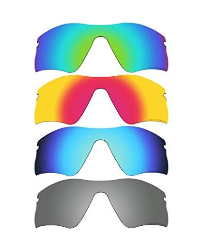 4 Pairs BVANQ Polarized Replacement Lenses for Oakley Radar Range Sunglasses K4