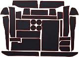 Coche Alfombrillas antideslizantes para Ford F150 F-150 Raptor F Series 2015~2020, Puerta Ranura Alfombrilla decoración de Accesorio Interior