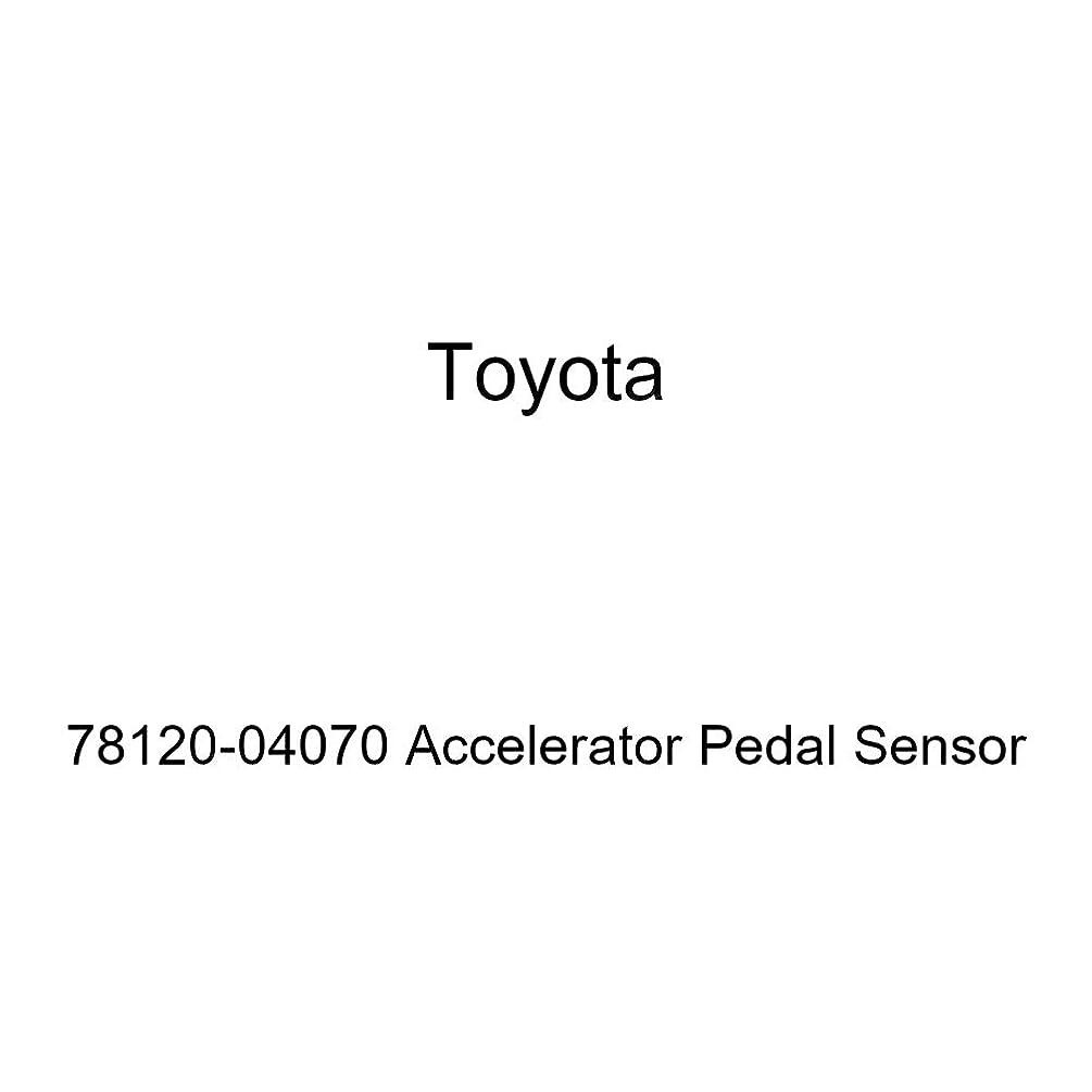 Toyota 78120-04070 Accelerator Pedal Sensor