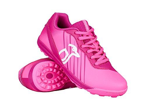 KOOKABURRA Neon Junior Hockey Schuhe–Pink (2018/19)–3UK